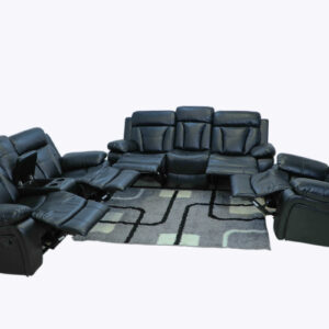 DONGMO FURNITURE CRYSTAL 321 COUCH PU LEATHER